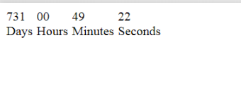 Countdown timer in Javascript – TechieSpice